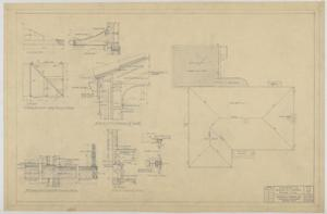 Primary view of object titled 'Sheppard Residence, Abilene, Texas: Aerial Layout and Garage'.