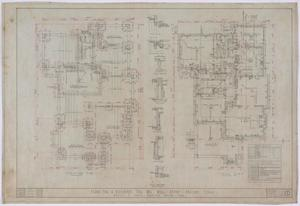 Primary view of object titled 'Stith Residence, Abilene, Texas: Floor and Foundation Plans'.