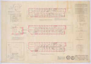 Primary view of object titled 'Clinic Building, Abilene, Texas: Utility Plan'.