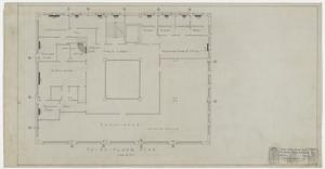 Primary view of object titled 'Abilene Medical & Surgical Clinic Office, Abilene, Texas: Third Floor Plan'.