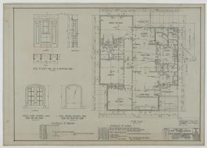 Primary view of object titled 'Stephens Residence, Abilene, Texas: Floor Plan'.