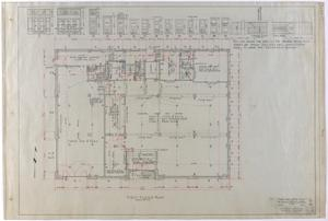 Primary view of object titled 'Abilene Medical & Surgical Clinic Office, Abilene, Texas: First Floor Plan'.
