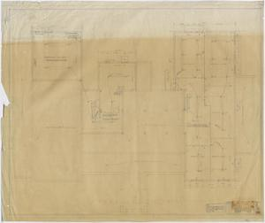 Primary view of object titled 'Stamford Inn, Stamford, Texas: Basement Plan'.