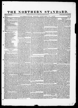 Primary view of object titled 'The Northern Standard. (Clarksville, Tex.), Vol. 1, No. 19, Ed. 1, Saturday, January 14, 1843'.