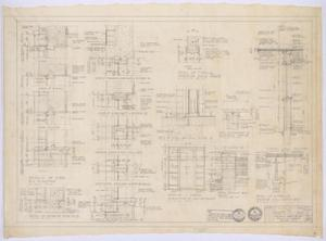 Primary view of object titled 'Clinic Building, Abilene, Texas: Details'.