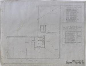 Primary view of object titled 'Ada McLemore's Hotel, Albany, Texas: Roof Plan'.