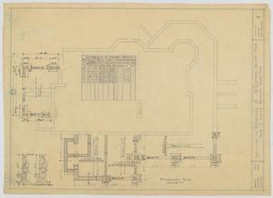 Primary view of object titled 'Radford Residence Addition, Abilene, Texas: Foundation'.