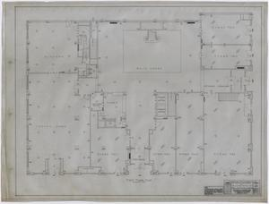 Primary view of object titled 'Settles' Hotel, Big Spring, Texas: First Floor Plan'.