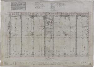 Primary view of object titled 'Radford Hotel, Abilene, Texas: First Floor Layout'.