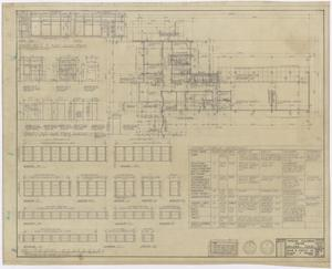Primary view of object titled 'Crippled Children's Center, Abilene, Texas: Floor Plan'.