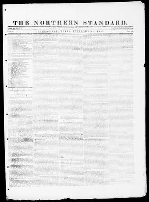 The Northern Standard. (Clarksville, Tex.), Vol. 1, No. 23, Ed. 1, Thursday, February 16, 1843