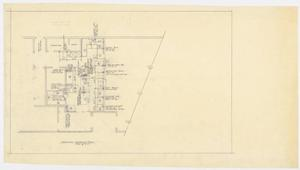 Primary view of object titled 'Green Oaks Nursing Home, Abilene, Texas: Electrical Rough-in Plan'.