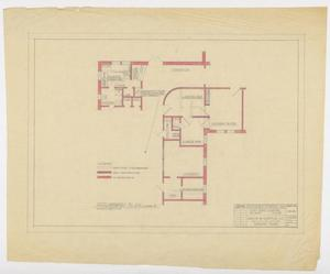 "Primary view of object titled 'Saint Ann's Hospital Remodel, Abilene, Texas: Preliminary Plan Scheme ""C""'."