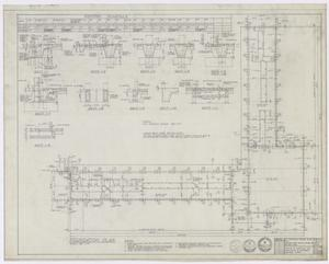 Primary view of object titled 'Elmwood West Medical Center Office, Abilene, Texas: Foundation Plan'.