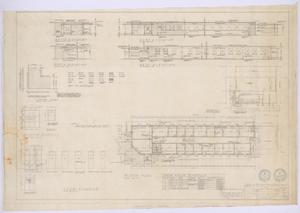 Primary view of object titled 'Clinic Building, Abilene, Texas: Floor Plan, Elevations, and Details'.