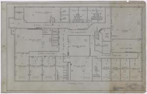 Primary view of object titled 'Wooten Hotel, Abilene, Texas: Basement Plan'.