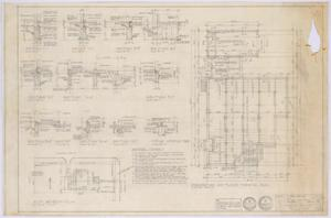 Primary view of object titled 'Travis Residence, Abilene, Texas: Foundation and Framing Plans'.