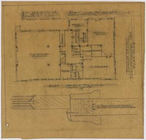 Primary view of object titled 'Hotel Building, Breckenridge, Texas: 8th Floor Plan'.