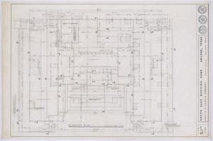 Primary view of object titled 'Green Oaks Nursing Home, Abilene, Texas: Foundation Plan'.