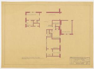 Primary view of object titled 'Saint Ann's Hospital Remodel, Abilene, Texas: Existing Floor Plan'.