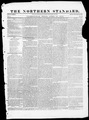The Northern Standard. (Clarksville, Tex.), Vol. 1, No. 33, Ed. 1, Thursday, April 27, 1843