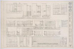 Primary view of object titled 'Green Oaks Nursing Home, Abilene, Texas: Interior Elevations and Details'.