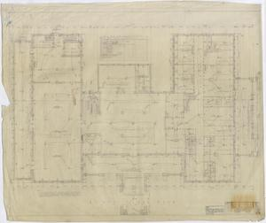 Primary view of object titled 'Stamford Inn, Stamford, Texas: First Level Floor Plan'.