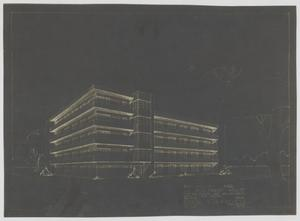 Primary view of object titled 'Apartment House Proposal, Abilene, Texas: Preliminary Drawing'.