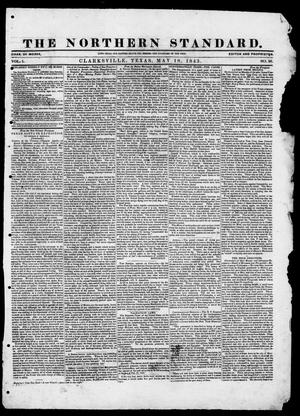 The Northern Standard. (Clarksville, Tex.), Vol. 1, No. 36, Ed. 1, Thursday, May 18, 1843
