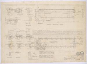 Primary view of object titled 'Clinic Building, Abilene, Texas: Framing Plan and Foundation Plan'.