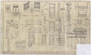 Primary view of object titled 'Hotel Building, Breckenridge, Texas: Detail Plan'.