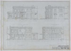 Primary view of object titled 'Simmons College President's Home, Abilene, Texas: Elevations'.