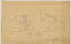 Primary view of object titled 'Walters Residence, Abilene, Texas: Mechanical Plans'.