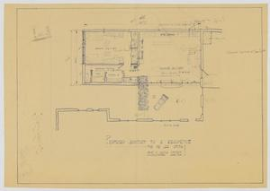 Primary view of object titled 'Smith Residence Addition, Abilene, Texas: Proposed Addition'.