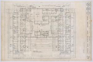 Primary view of object titled 'Green Oaks Nursing Home, Abilene, Texas: Floor Plan'.