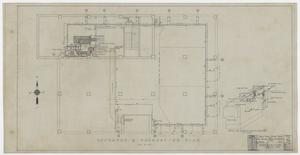 Primary view of object titled 'Abilene Medical & Surgical Clinic Office, Abilene, Texas: Basement and Foundation Plan'.
