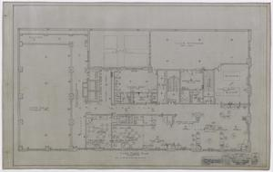 Primary view of object titled 'Wooten Hotel, Abilene, Texas: Third Story Floor Plan'.