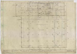 Primary view of object titled 'Hotel Building, Breckenridge, Texas: Basement Mechanical Plan'.