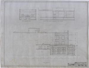 Primary view of object titled 'Ada McLemore's Hotel, Albany, Texas: Sections and Elevations'.