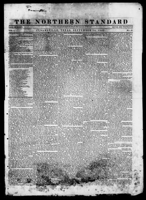 The Northern Standard. (Clarksville, Tex.), Vol. 1, No. 46, Ed. 1, Thursday, September 14, 1843
