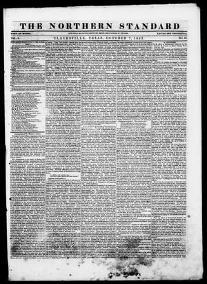 Primary view of object titled 'The Northern Standard. (Clarksville, Tex.), Vol. 1, No. 49, Ed. 1, Saturday, October 7, 1843'.