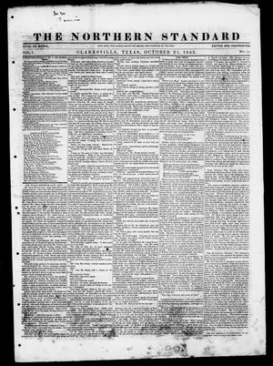 Primary view of The Northern Standard. (Clarksville, Tex.), Vol. 1, No. 51, Ed. 1, Saturday, October 21, 1843