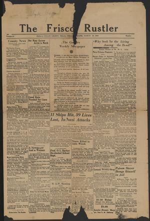 The Frisco Rustler (Frisco, Tex.), Vol. 47, Ed. 1 Friday, March 29, 1940