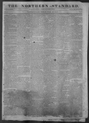 Primary view of object titled 'The Northern Standard. (Clarksville, Tex.), Vol. 3, No. 47, Ed. 1, Wednesday, February 18, 1846'.