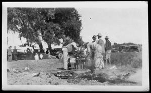 [A barbecue at Camp George]