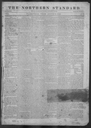 Primary view of The Northern Standard. (Clarksville, Tex.), Vol. 4, No. 18, Ed. 1, Saturday, August 8, 1846