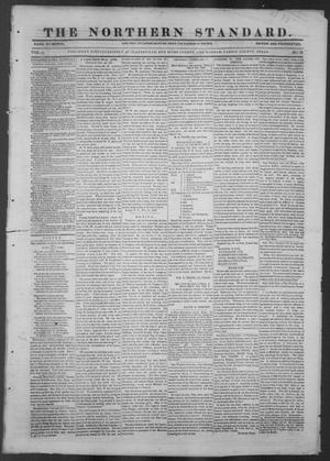 Primary view of object titled 'The Northern Standard. (Clarksville, Tex.), Vol. 4, No. 50, Ed. 1, Thursday, April 8, 1847'.