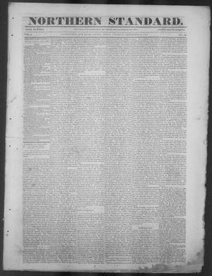 Primary view of The Northern Standard. (Clarksville, Tex.), Vol. 5, No. 22, Ed. 1, Saturday, September 18, 1847