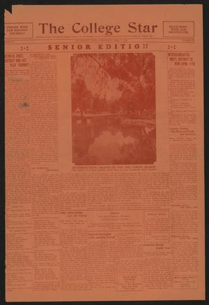 Primary view of object titled 'The College Star (San Marcos, Tex.), Vol. 23, No. 22, Ed. 1 Wednesday, April 1, 1931'.