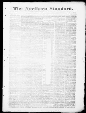 Primary view of object titled 'The Northern Standard. (Clarksville, Tex.), Vol. 5, No. 47, Ed. 1, Saturday, March 18, 1848'.